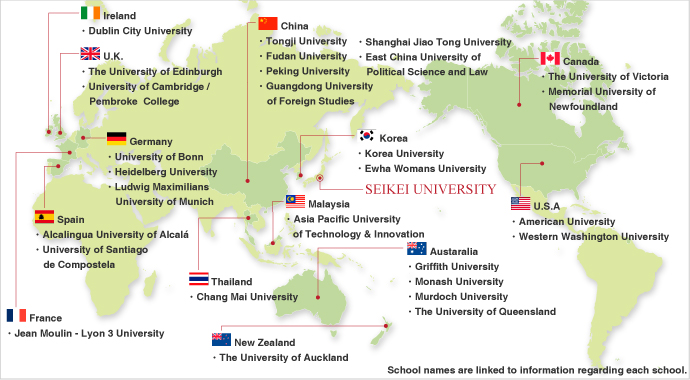 Heidelberg University Campus Map.International Partner Universities Institutes Facilities